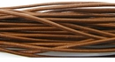 Light Brown Round Leather Cord