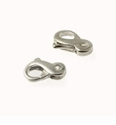 Sterling Silver Figure Eight Clasps