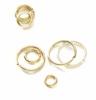 Round Gold Plated Open Jump Rings 6mm