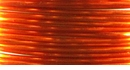Orange Colourcraft Silver Plated 20gauge
