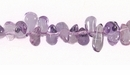 Amethyst Briolette Beads 4x3-8.5 mm