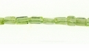 Peridot Square Stick 3x5mm
