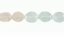 Multi Light Glass Oval 6x6-10mm