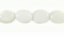 White Jade Oval 5-8x8-11.5mm