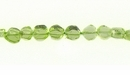 Peridot Coin 4mm