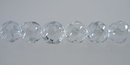 Crystal S-Line Swirl Round Beads 8mm