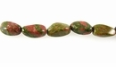 Unakite Nugget Beads 10-20mm