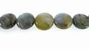 Labradorite Coin Gemstone Beads