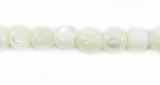Round Mother Of Pearl Troca Shell Beads
