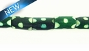 Dyed Bone Tube Green 6-7mmx9-10mm~8""