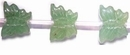 Green Butterfly Aventurine Beads 12x14mm