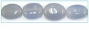 Blue Chalcedony Oval Beads 10-16mm