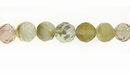 Tiger Glass Round Beads Faceted 6-6.5mm