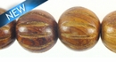 Bayong Squash Design Wood Bead
