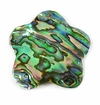 Paua Flower Shell Pendants 30mm