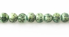 Light Green Turquoise Salwag Seed Beads 6-7mmx6mm