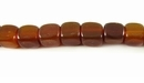 Golden Horn Dice Beads 7mm