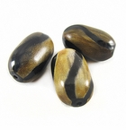 Burnt Oval Horn Beads