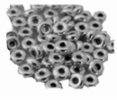 Sterling Silver Rondelle Beads 4mm
