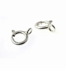 Sterling Silver Spring Rings (Closed) 5mm