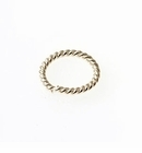 Sterling Silver Twisted Round  Jump Rings (Open) 7mm