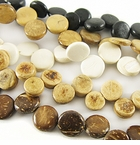 Coco Coin Disc Beads