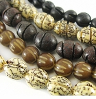 Carved Seed Beads