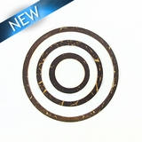 Coco Ring Set � Brown 48mm; 35mm, 20mm