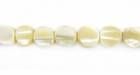 Natural Round Mother Of Pearl Shell Beads 6mm
