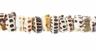 Puka Shell Tiger Beads
