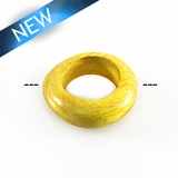 Nangka Wood Irregular Round 34mm w/ 20mm ID