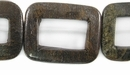 Bronzite Hallow Rectangular Beads