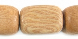 Rosewood Dice Beads 15x20mm