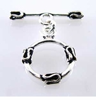 Bali Sterling Silver Toggle Clasps
