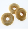 Tea Dyed Bone Donut Beads 20mm