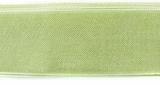 Olive GreenOrganza Ribbon 1""
