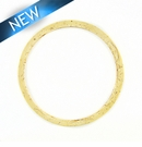 White Coco Ring 54mm w/ 50mm ID x 2.5mm Thick