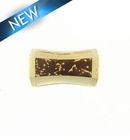 Inlaid Brown/White Coco 13x32x13mm