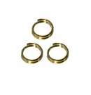 Gold Plated Split Rings