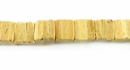Coco Dice Beads 7mm - Natural Tan