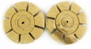 Natural Tan Coco Tire Disc Beads 25x5mm