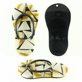 Chamber Nautilus Skin Inlay Slipper 24mm