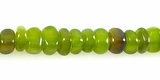 Green Dyed Nugget Horn Beads 6mm