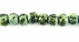 Green Turquoise Salwag Seed Beads 6-7mmx6mm