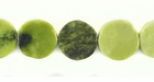 Jasper Green Coin 10mm