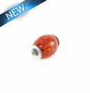 Pandora-Style Salwag Seed 16x18-21mm Orange