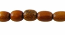 Oval Bayong  Wood Beads