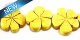 Nangka Wood Flower  Shape 15mm