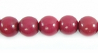 Grape  Buri Round Beads 8mm