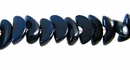 Dark Blue Manol Buri Beads 4-5mm